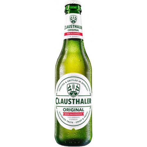 Пиво светлое фильтрованное Clausthaler Original безалкогольное 0.33л